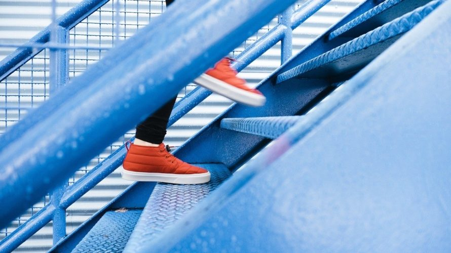 魅力的な階段の上り方。筋トレ効果もアリ♪
